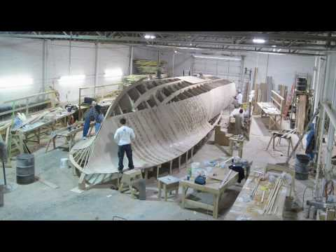 Jeff Burton's 46' Jarrett Bay Construction Time Lapse #1