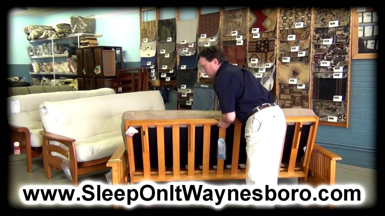 Futons Staunton Va 24401 Futon Store Waynesboro Va 22980 Youtube