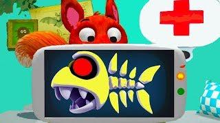 ДОКТОР ИГРА #7 лечу животных как Доктор Плюшева  Мультик игра для детей про друзей. Детский летсплей