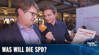 Fabian Köster beim Debattencamp der SPD | heute-show vom 16.11.2018
