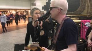 MISS YOU / ROLLING STONES COVER / SUBWAY BUSKERS NYC