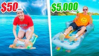 BARCO DE $50 vs BARCO DE $5,000 ¿Cuál flota más tiempo?