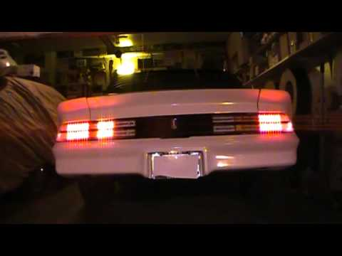 1978 Camaro Led Tail Lights True Sequential Turn Signals