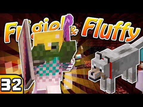 FRIGIEL & FLUFFY : L'ÉTAGE INFERNAL   Minecraft - S4 Ep.32