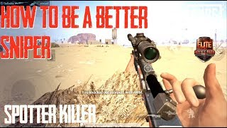 How to be a better Sniper - Pubg mobile Tips & Tricks with TheBushka