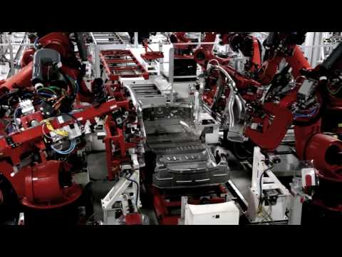Tesla Factory Aerials and Model X and Model S Production