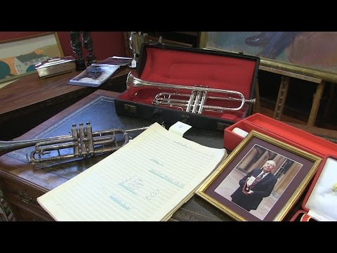 Sir Malcolm Arnold auction includes his Ivor Novello Awards