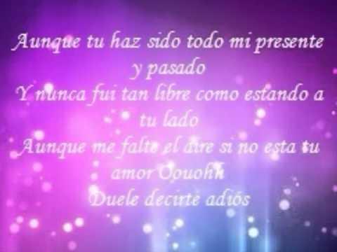Adios lyrics by Ricky Martin - original song full text ...
