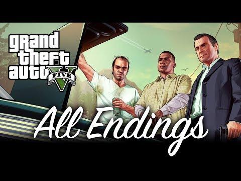 All Endings - GTA V