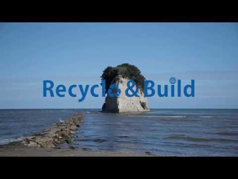 リサイクルインクジット Recycle & Build 芸術家 岩崎貴宏篇