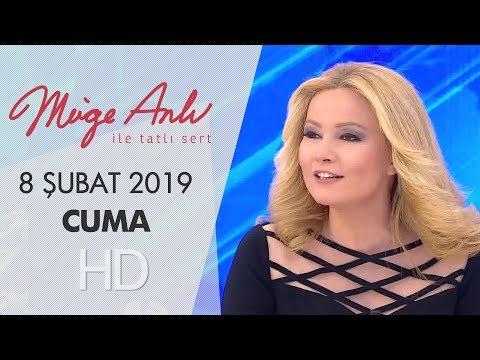 Müge Anlı ile Tatlı Sert 8 Şubat 2019  | Cuma