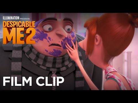 "Despicable Me 2 - Clip: ""Lucy Surprises Gru at the Cupcake Shop"" - Illumination"