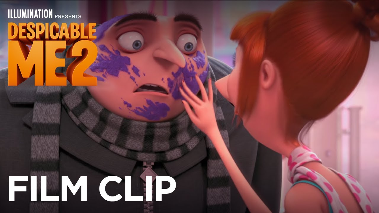 Despicable Me 2 Clip Quot Lucy Surprises Gru At The Cupcake