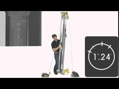 Montagem do Kit Tripé para Espaço Confinado - MSA - RJ EPI - YouTube a7176dff39