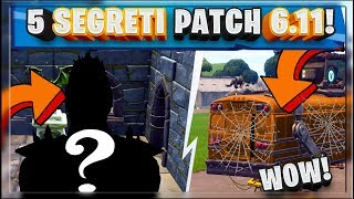 FORTNITE UPDATE: 5 SEGRETI PATCH HALLOWEEN! NUOVA MODALITA' - NUOVA SKIN! (BATTLE ROYALE)