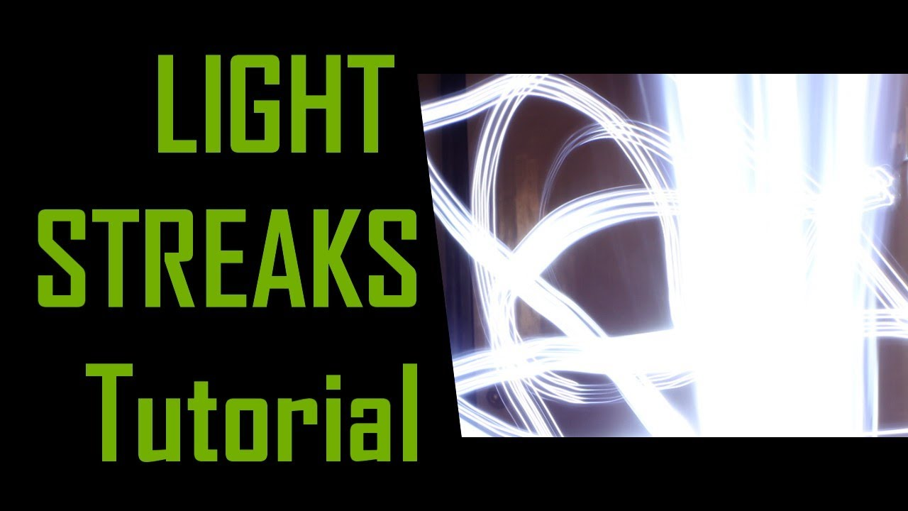 Camera Dslr Camera Effects tutorial create light trailsstreaks effect with any dslr camera no vfx