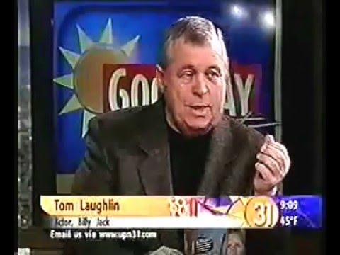 Tom Laughlin Billy Jack  January 2001 GOOD DAY SACRAMENTO