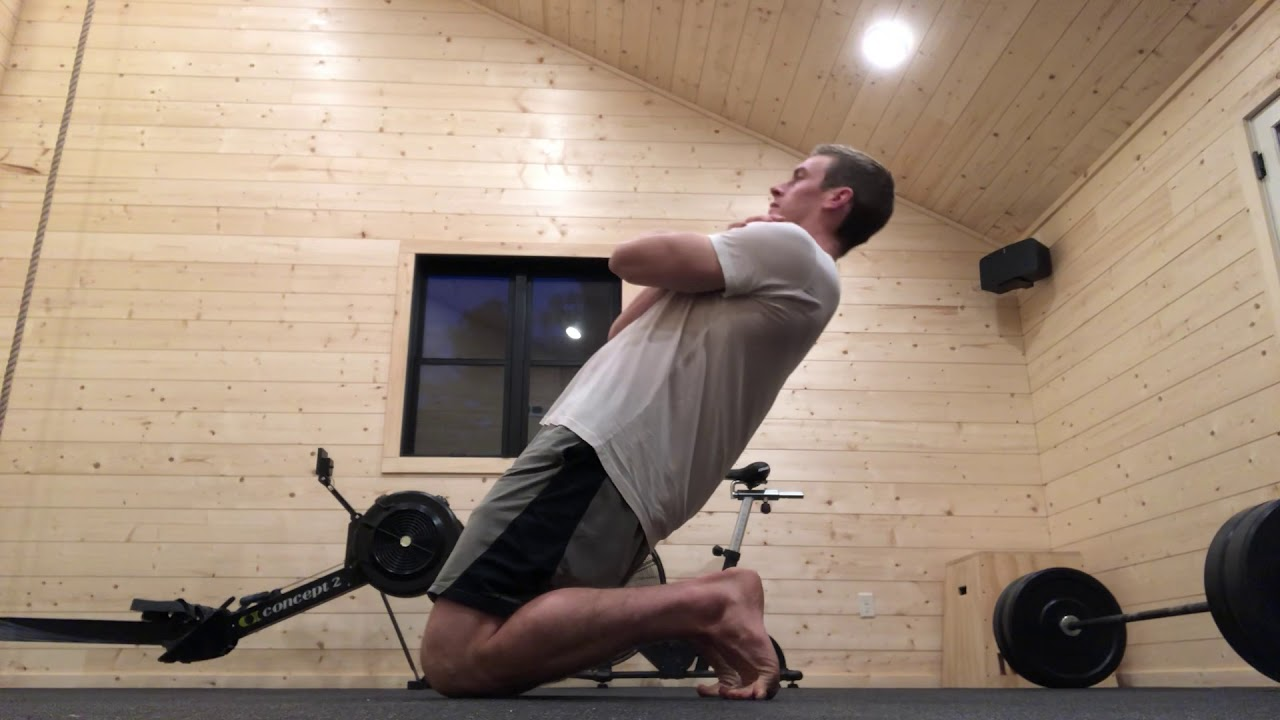 Reverse Nordic Curl (natural leg extensions) - YouTube