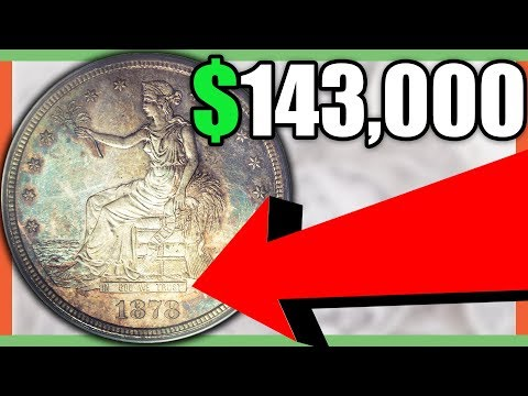 RARE TRADE DOLLAR COINS WORTH MONEY - TRADE DOLLAR VALUE