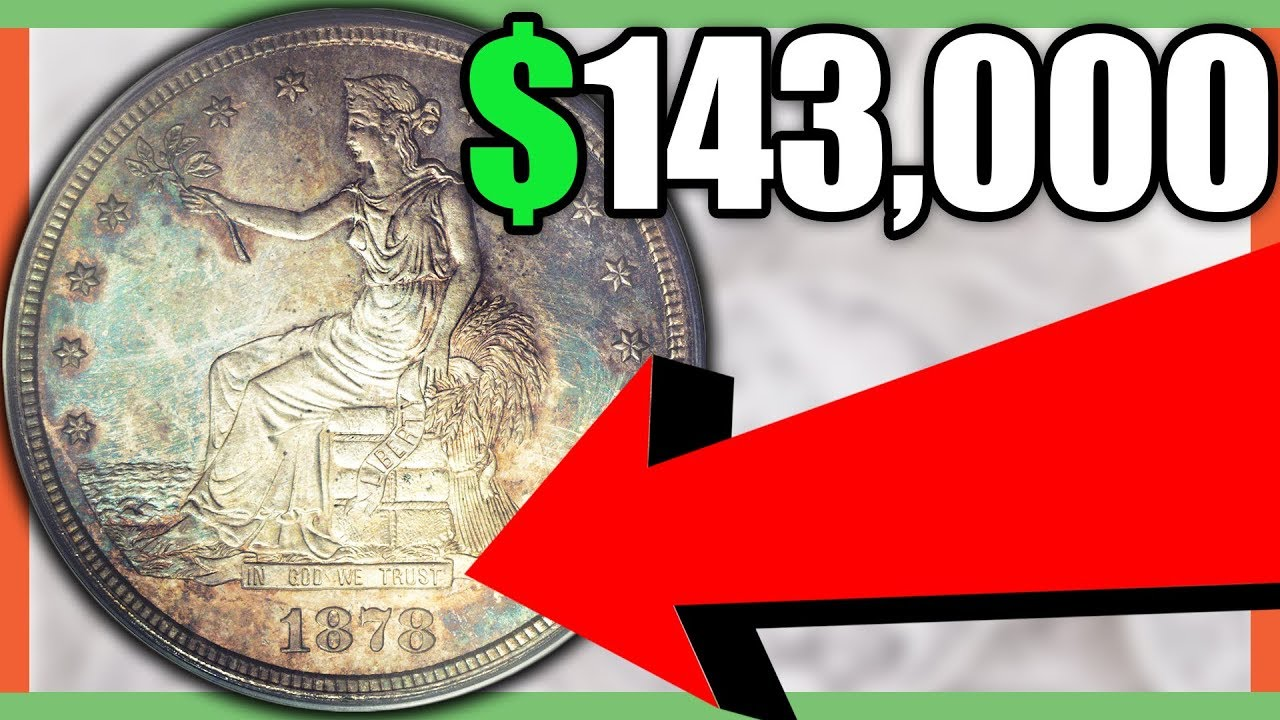 Rare Trade Dollar Coins Worth Money Trade Dollar Value