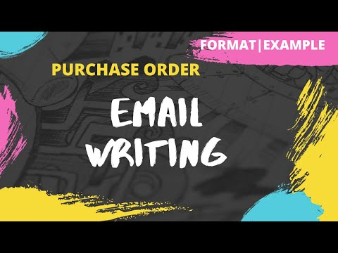 Email Writing | How to write an Email | Format | Example | Exercise | Writing Skills