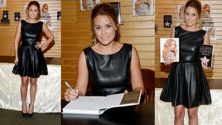 Baixar Lauren Conrad Shares Fall Fashion Tips and Styles Up a Leather LBD! 807a77c3d1