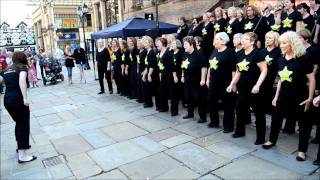 Rock Choir at the Chester Big Sing July 2011