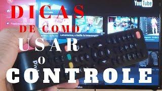 COMO USAR o CONTROLE da SMART TV PHILCO 39