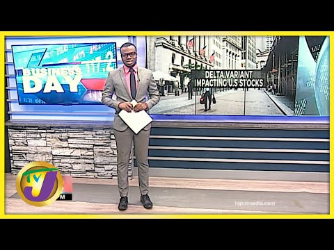 US Stocks Drop Due to Delta Variant Fears | TVJ Business Day - July 19 2021