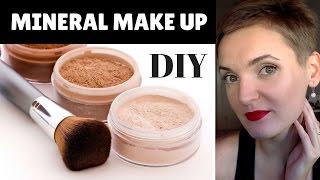 Minerální make up DIY - moje zkušenosti a domácí výroba