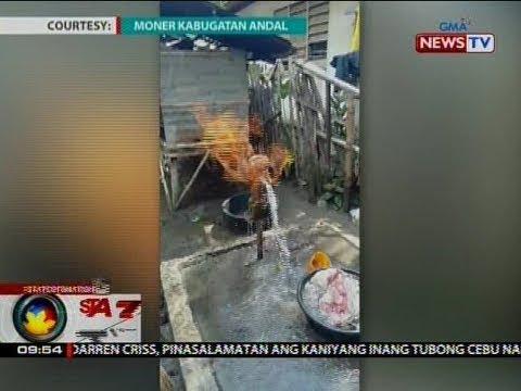 SONA: Tubig mula sa poso, palaisipan kung bakit nagliliyab sa Buluan, Maguindanao