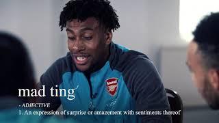 Aubameyang and Mkhitaryan taught London slang by Arsenal teammates
