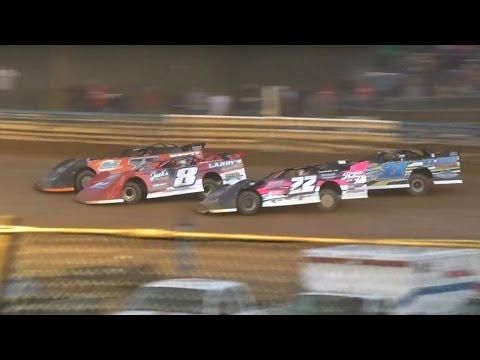 ULMS Super Late Model Heat One   Tyler County Speedway   4-16-16