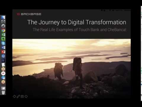 The Journey to Digital Transformation with Touch Bank and CheBanca!
