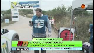 El Rally Argentina 2015 pisó suelo cordobés entre Agua de Oro y Ascochinga - Noticiero Doce