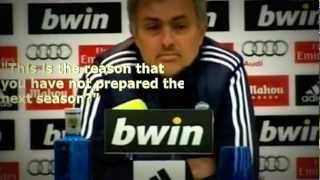 "Jose mourinho - a ""translator's"" dream"
