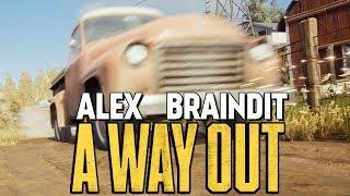 УКРАЛИ ТАЧКУ В СТИЛЕ GTA! ПОБЕГ ОТ КОПОВ - A Way Out #5
