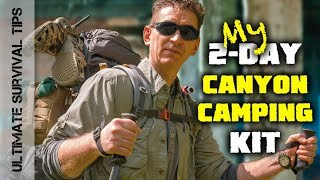 2-DAY TEST - Ghostek NRG Camper - Solar Bug Out Backpack - REVIEW