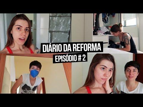 Diário da Reforma #2 - Pintando o Apt, Piso Vinílico e Mudança! | Mi Alves