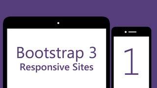 Bootstrap 3 Tutorials - # 1 - Build a responsive Bootstrap 3 site thumbnail