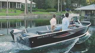 ePropulsion Navy 6.0 Electric Outboard - Smoker Craft Big Fish 16