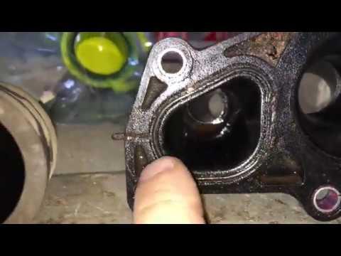 Замена прокладки корпуса термостата Форд Фьюжн