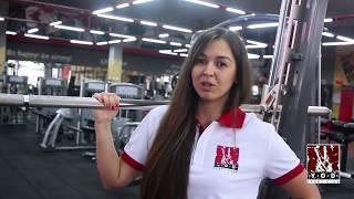 Упражнения на ягодицы в тренажере Смита от Алины Семянив (YOD SC)