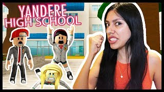 SHE FLIRTED WITH MY BOYFRIEND SO I KILLED HER! - ROBLOX - YANDER HIGH SCHOOL