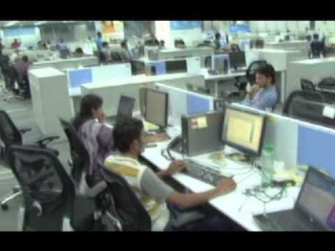 A Guided tour of Enterprise Support & IT Innovation Centre, Bangalore