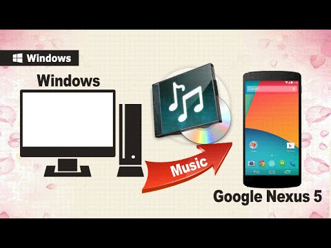 Sync Music to Nexus 5: How to Transfer Music from Computer to Google Nexus 5, 5X