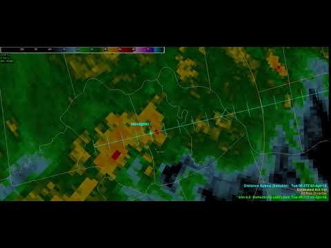 Custom Storm Motion in AWIPS