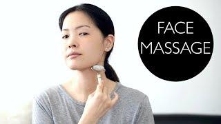 Facial Lymphatic Drainage Massage Using Jade Roller! thumbnail