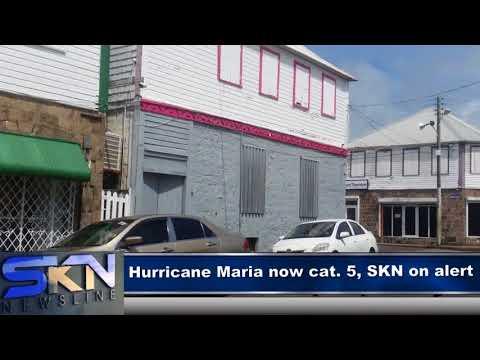 ST KITTS AND NEVIS ON FULL ALERT (HURRICANE MARIA)