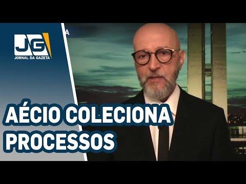 Josias de Souza/Aécio coleciona processos criminais